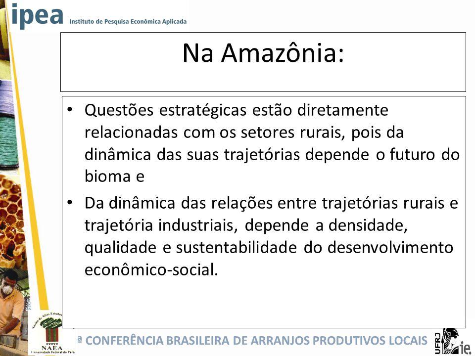 Na Amazônia: