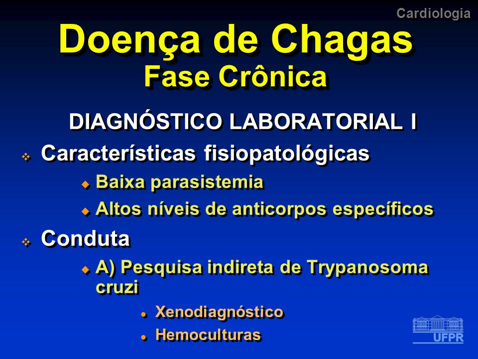 Doença de Chagas Fase Crônica