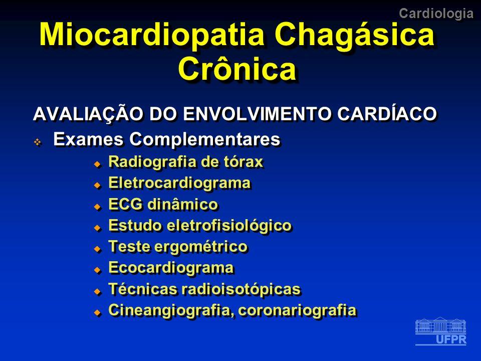 Miocardiopatia Chagásica Crônica