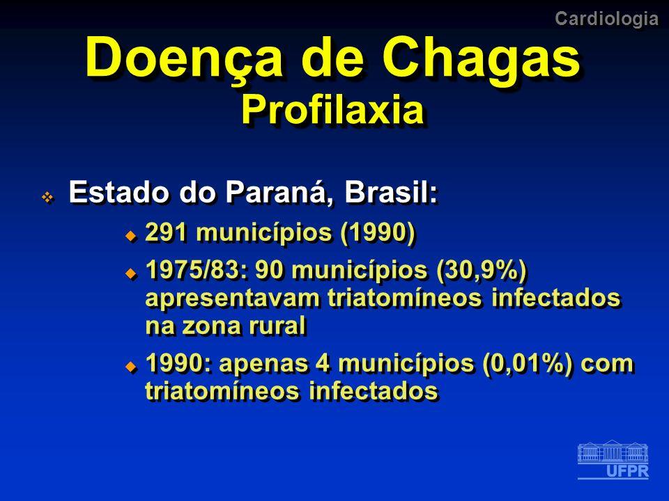 Doença de Chagas Profilaxia