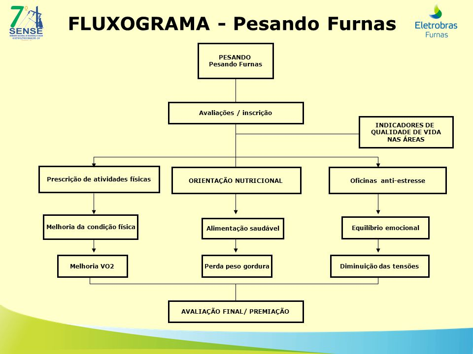 FLUXOGRAMA - Pesando Furnas