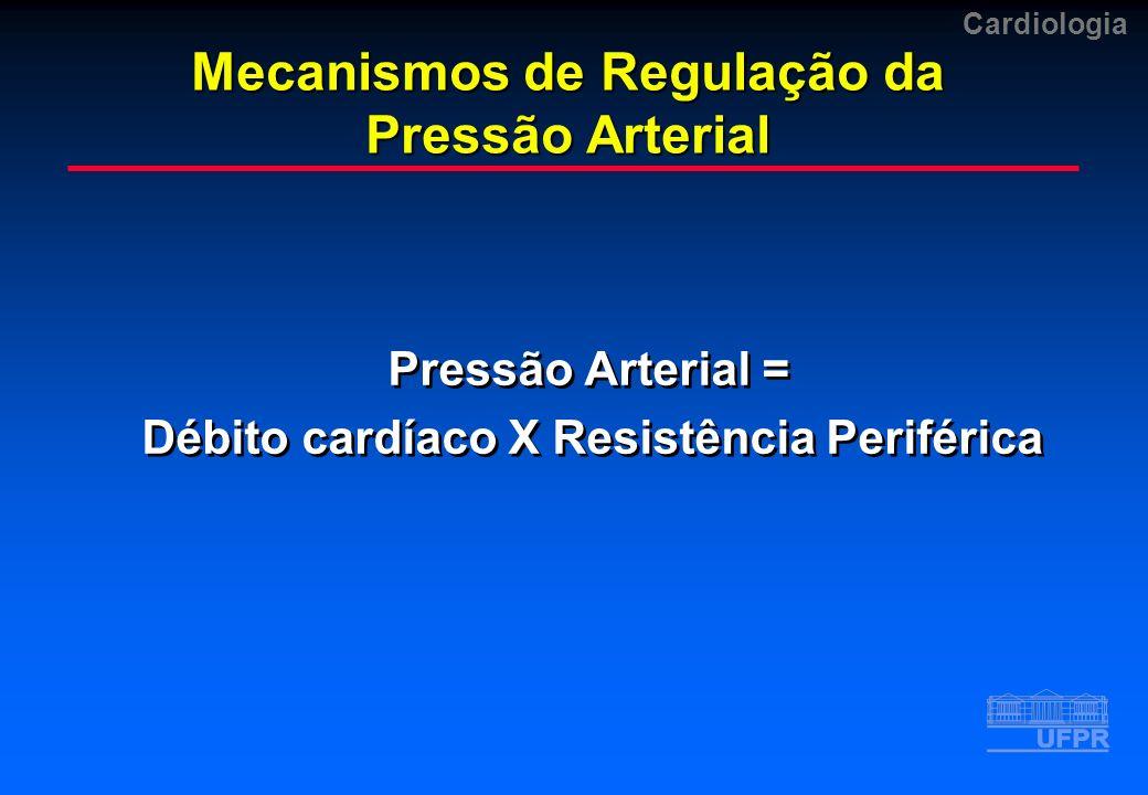 Mecanismos de Regulação da Pressão Arterial