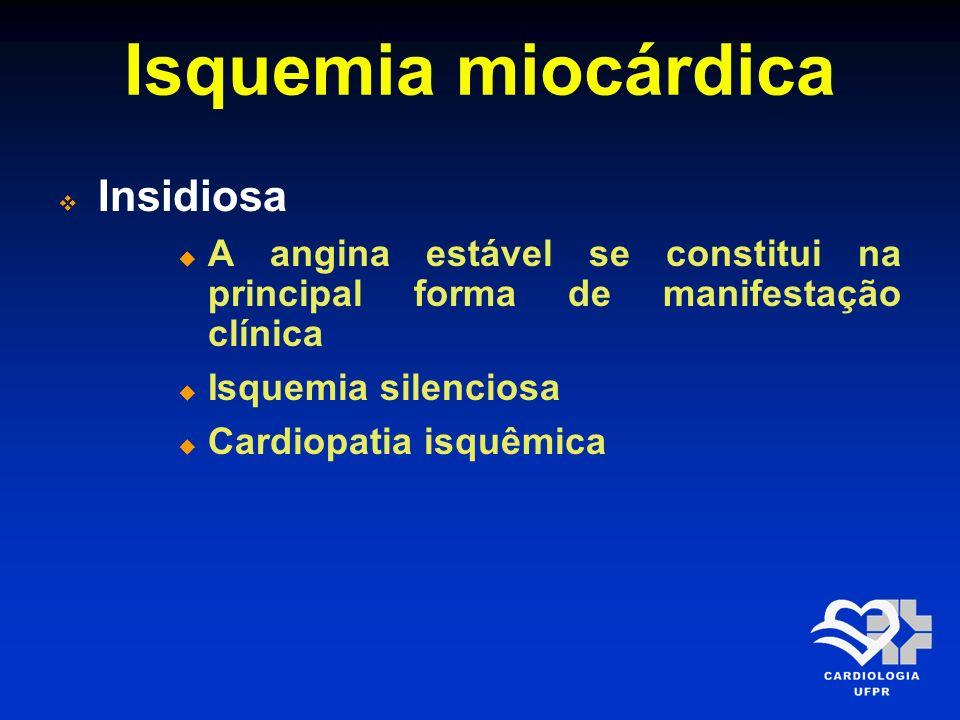 Isquemia miocárdica Insidiosa