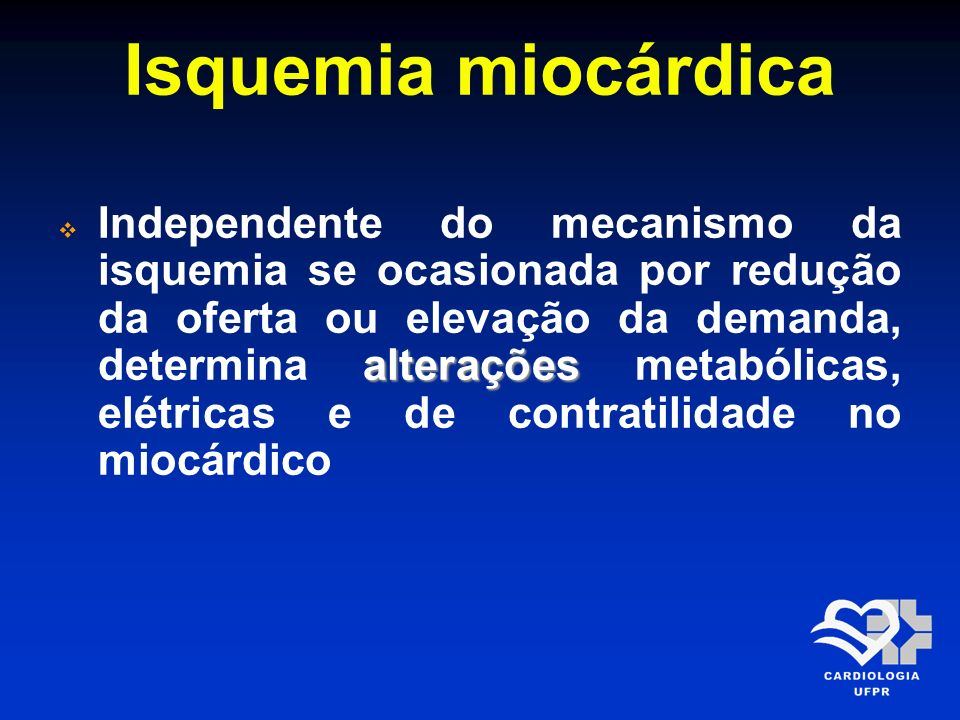 Isquemia miocárdica