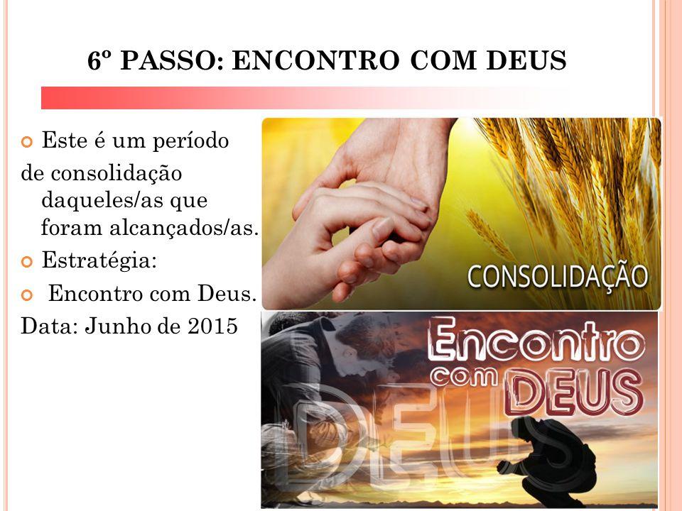 6º PASSO: ENCONTRO COM DEUS