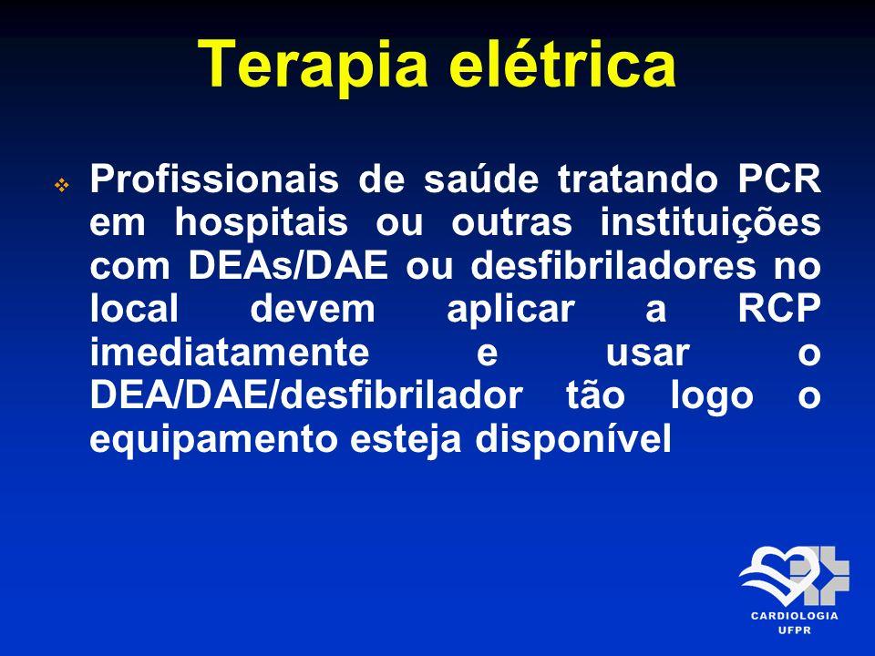 Terapia elétrica