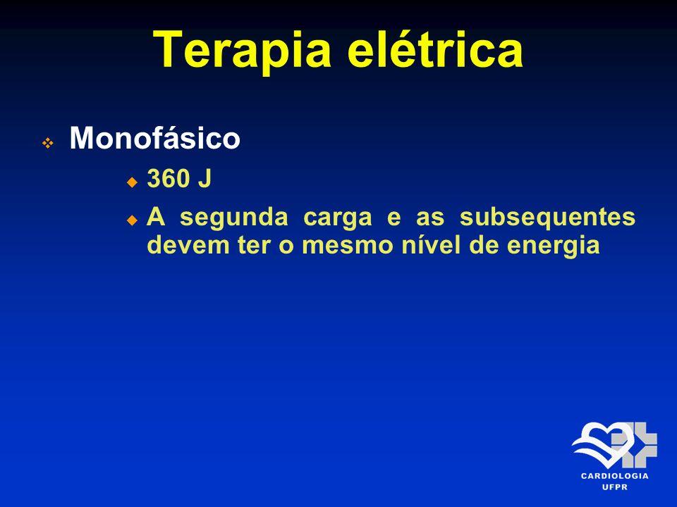 Terapia elétrica Monofásico 360 J