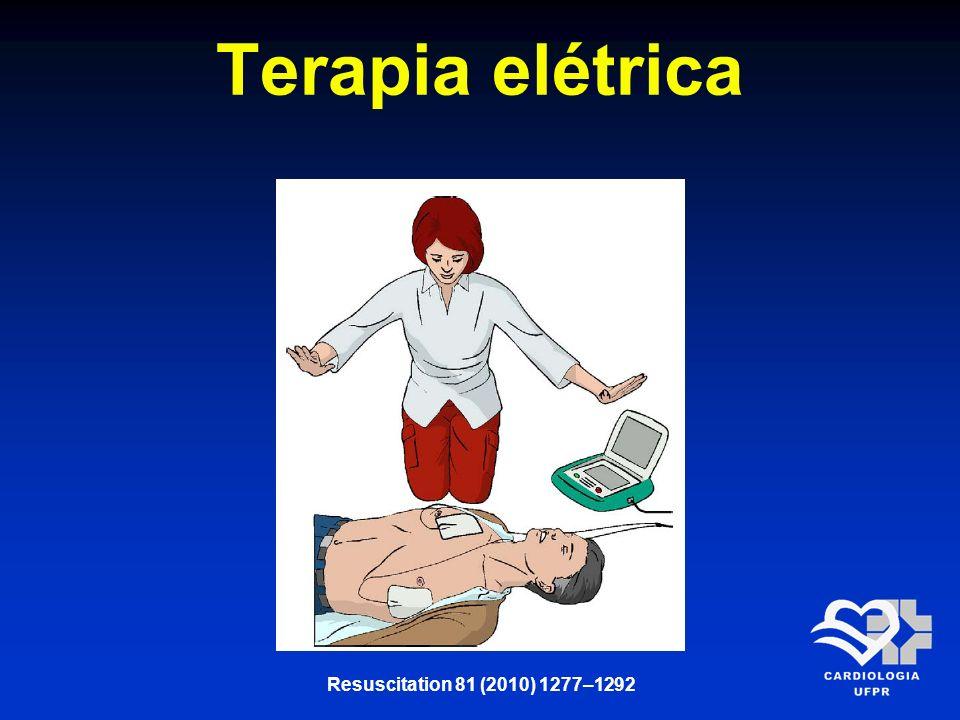 Terapia elétrica Resuscitation 81 (2010) 1277–1292