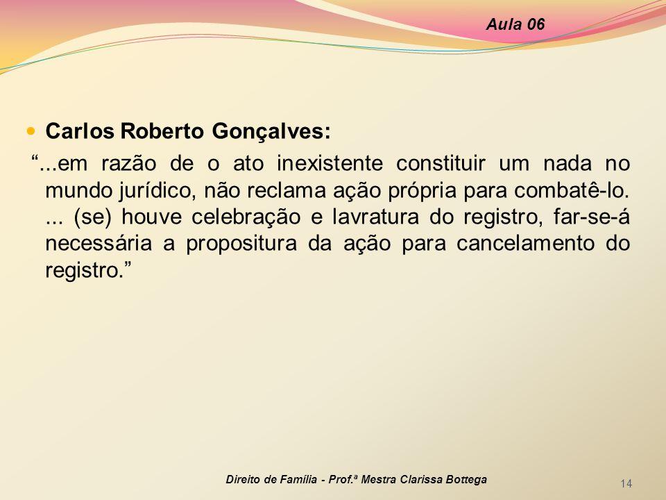 Carlos Roberto Gonçalves: