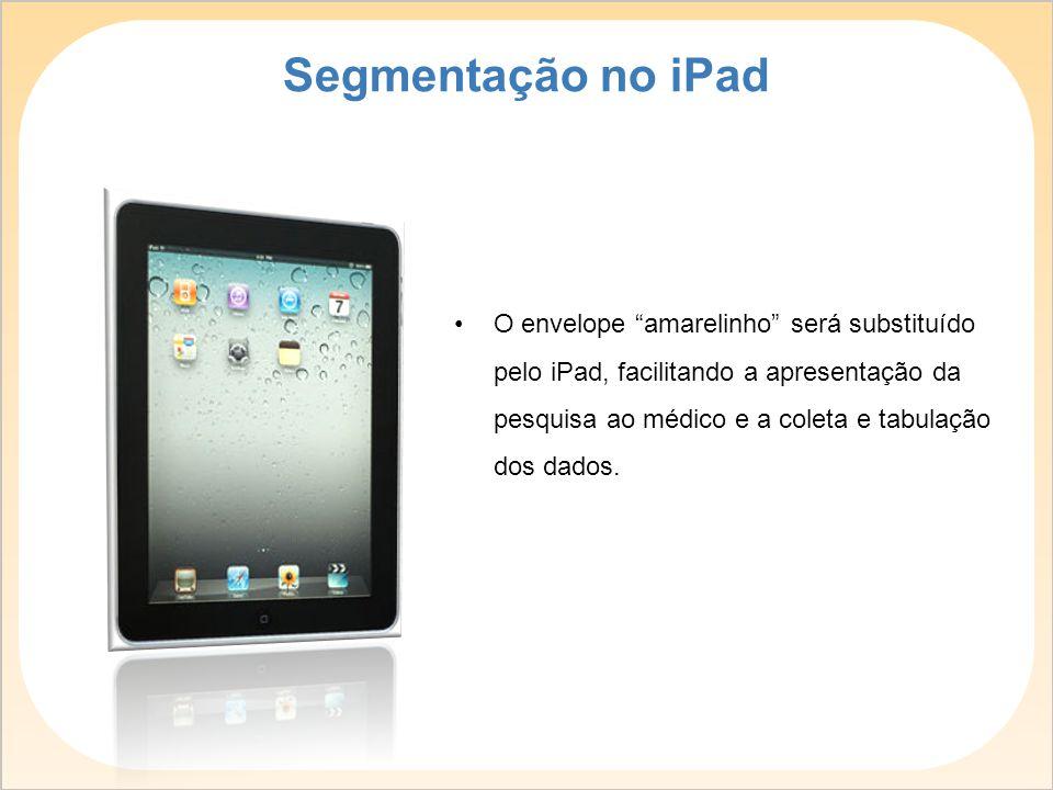 Segmentação no iPad