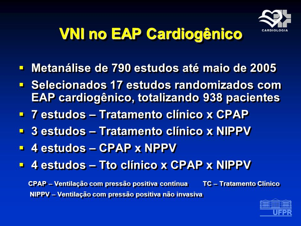 VNI no EAP Cardiogênico