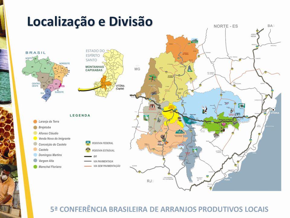 Localização e Divisão