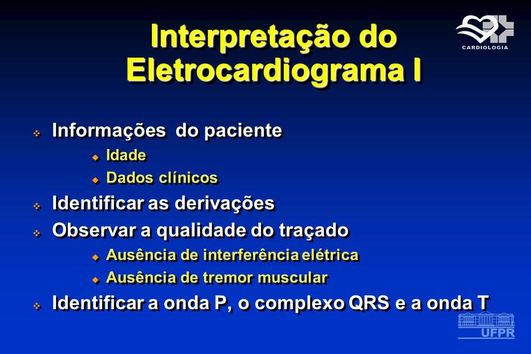 Interpretação do Eletrocardiograma I