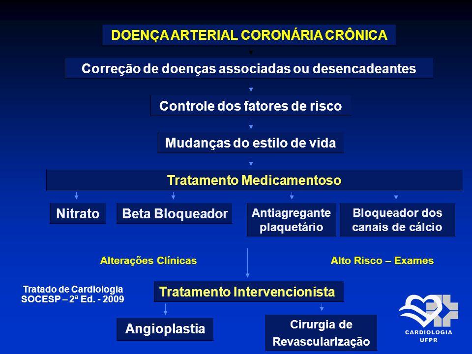 DOENÇA ARTERIAL CORONÁRIA CRÔNICA