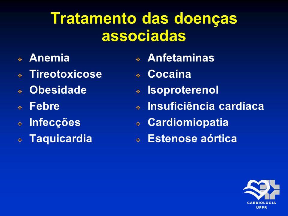 Tratamento das doenças associadas