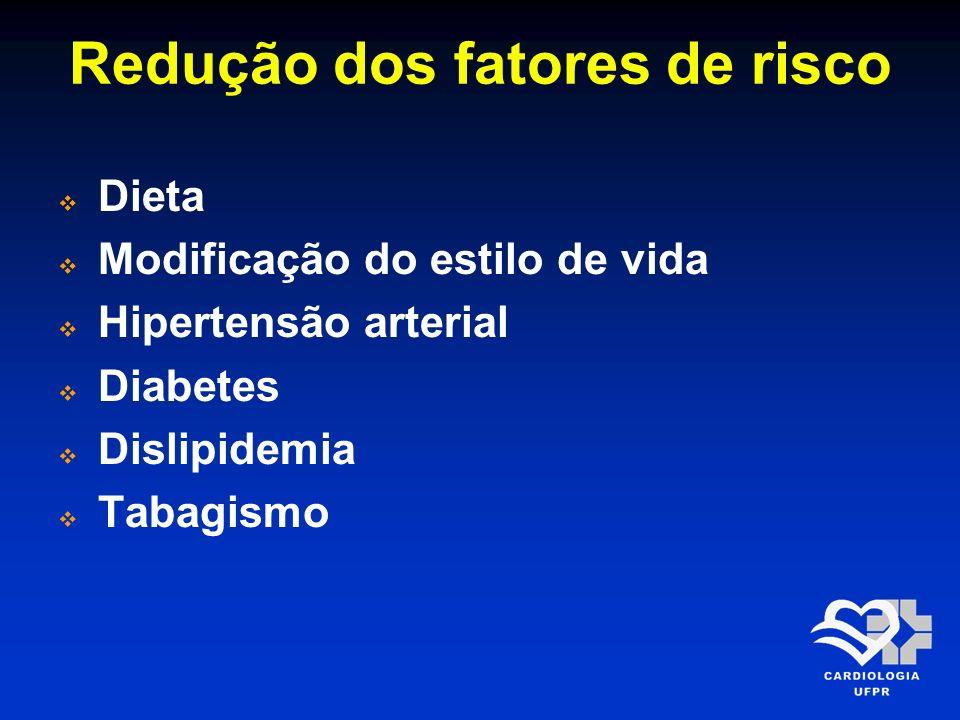 Redução dos fatores de risco