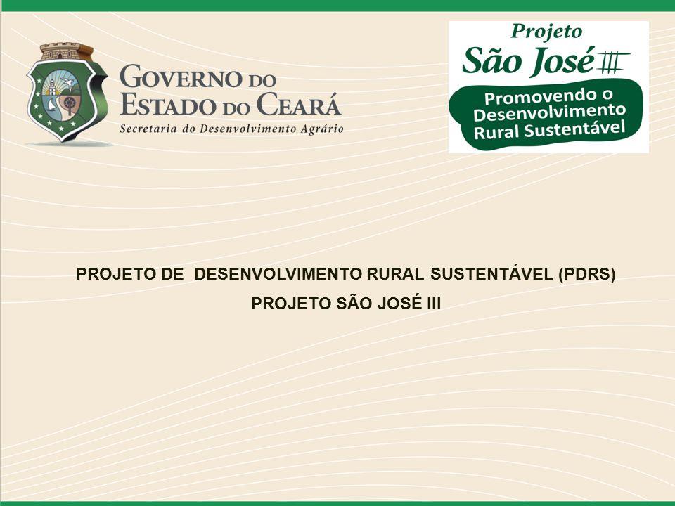 PROJETO DE DESENVOLVIMENTO RURAL SUSTENTÁVEL (PDRS)