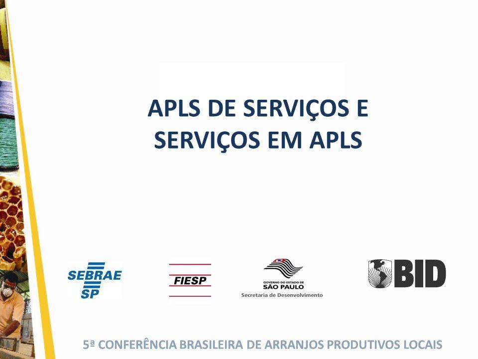 APLS DE SERVIÇOS E SERVIÇOS EM APLS