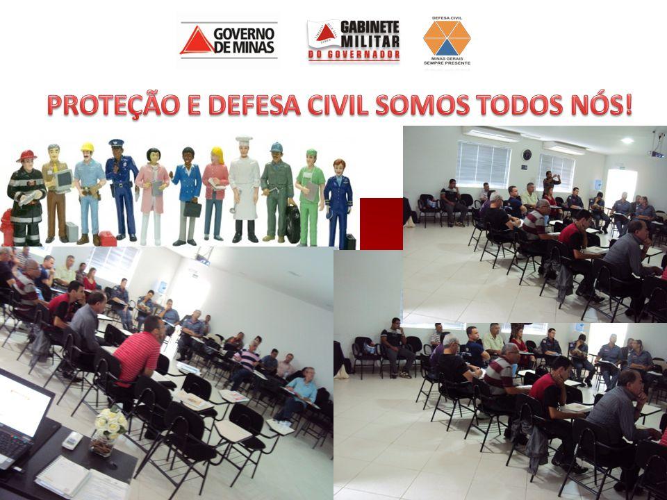 PROTEÇÃO E DEFESA CIVIL SOMOS TODOS NÓS!