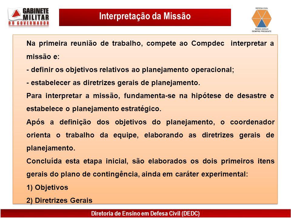 Interpretação da Missão