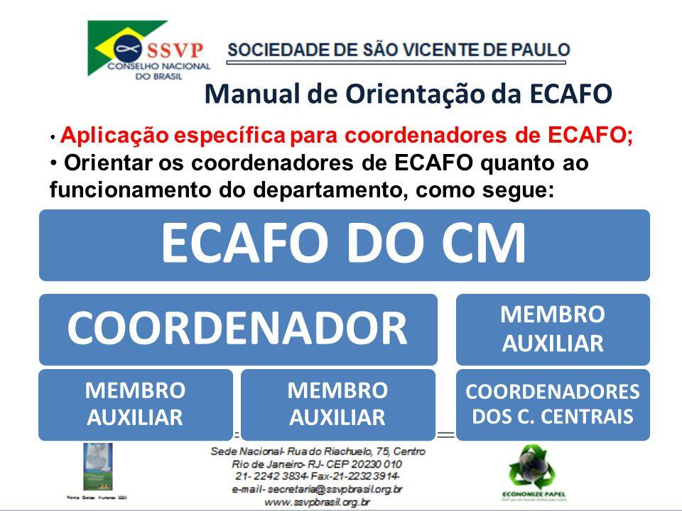 Manual de Orientação da ECAFO