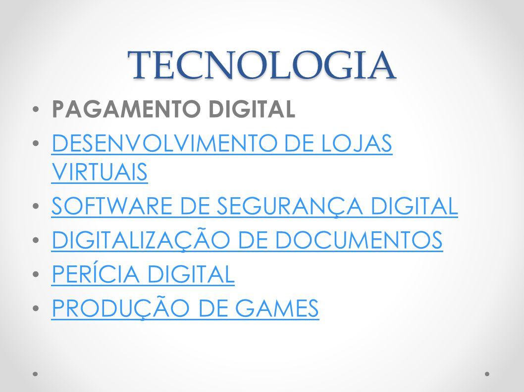 TECNOLOGIA PAGAMENTO DIGITAL DESENVOLVIMENTO DE LOJAS VIRTUAIS