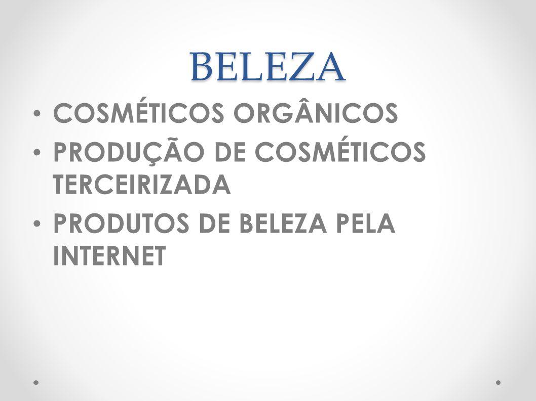 BELEZA COSMÉTICOS ORGÂNICOS PRODUÇÃO DE COSMÉTICOS TERCEIRIZADA