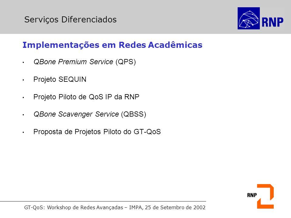 Implementações em Redes Acadêmicas