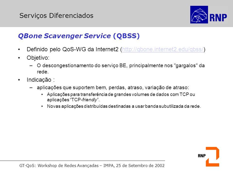 QBone Scavenger Service (QBSS)
