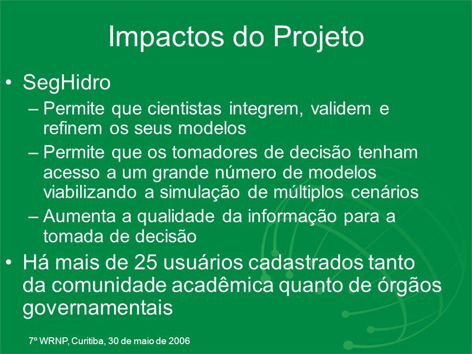 Impactos do Projeto SegHidro