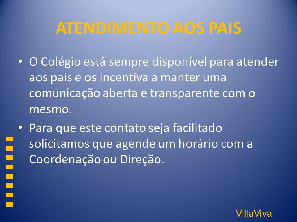 ATENDIMENTO AOS PAIS