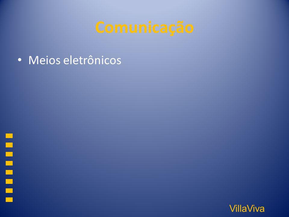 Comunicação Meios eletrônicos
