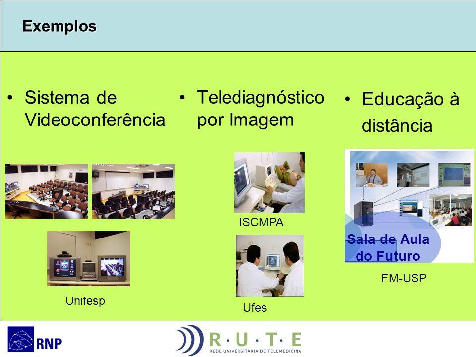 Sistema de Videoconferência Telediagnóstico por Imagem Educação à