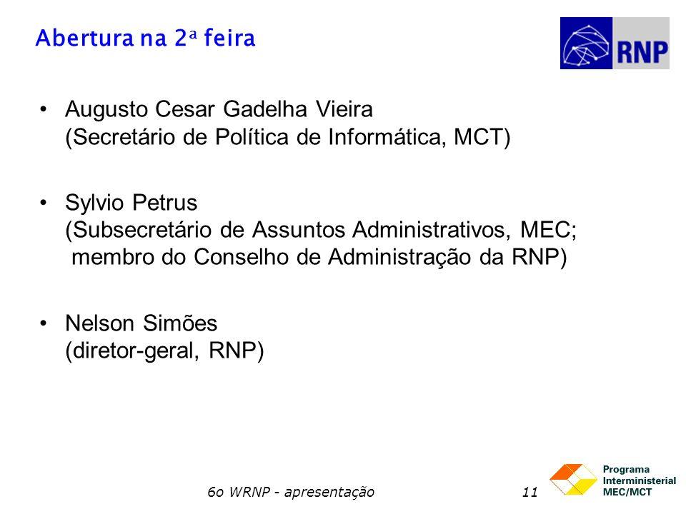 Nelson Simões (diretor-geral, RNP)