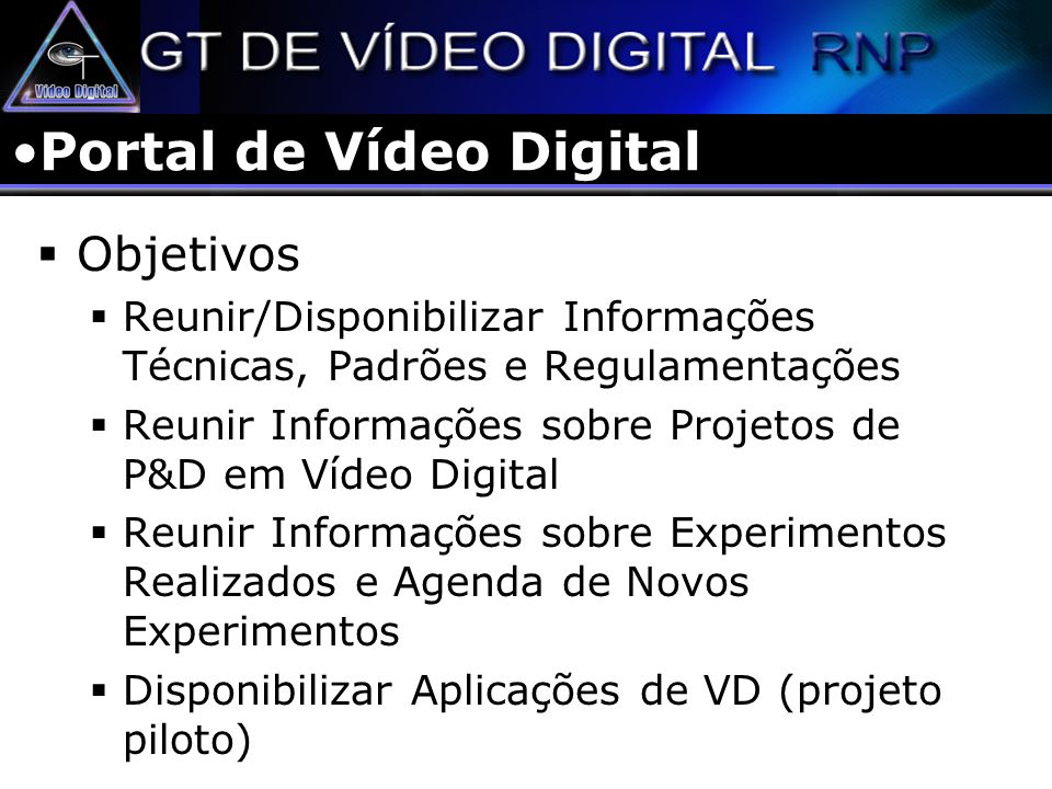 Portal de Vídeo Digital