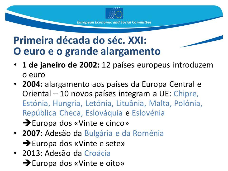 O euro e o grande alargamento