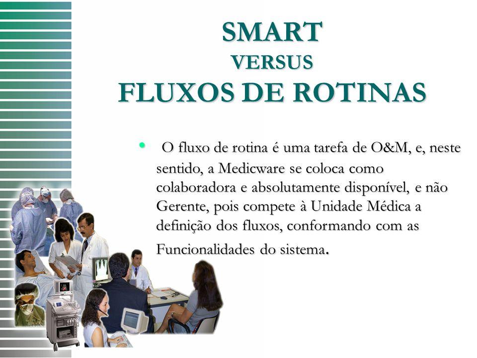 SMART VERSUS FLUXOS DE ROTINAS