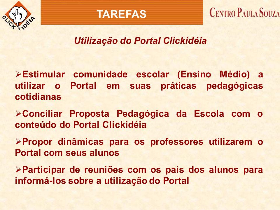 Utilização do Portal Clickidéia