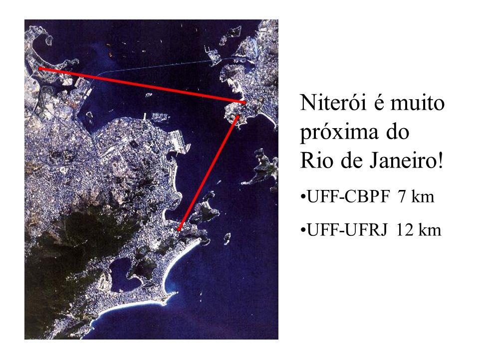 Niterói é muito próxima do Rio de Janeiro!