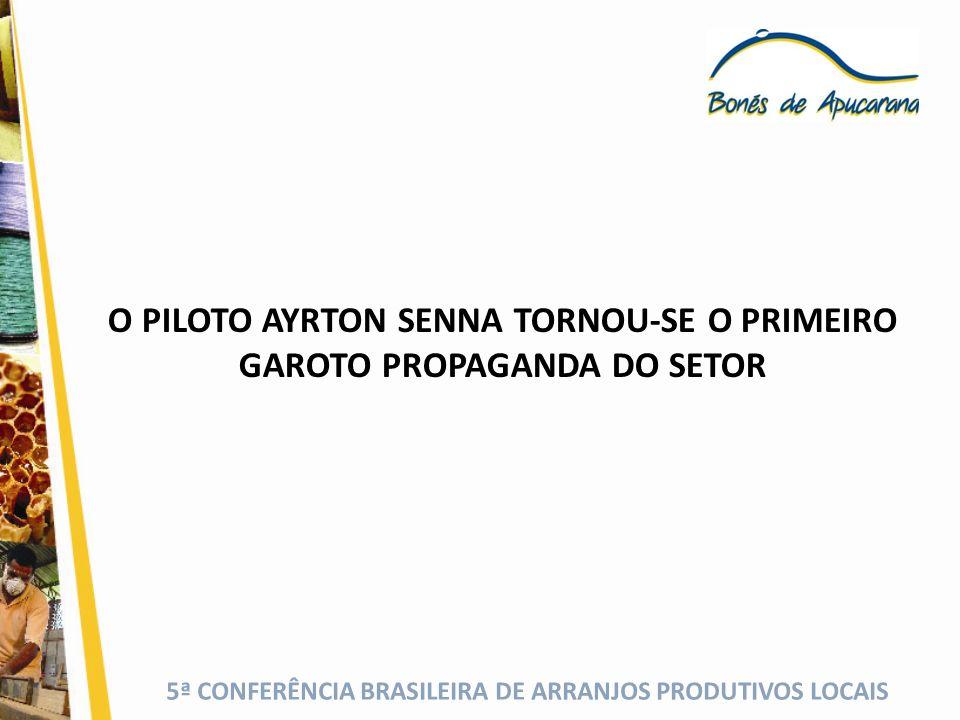 O PILOTO AYRTON SENNA TORNOU-SE O PRIMEIRO GAROTO PROPAGANDA DO SETOR