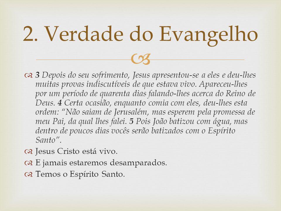 2. Verdade do Evangelho