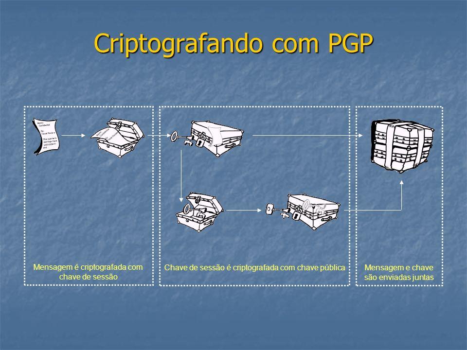 Criptografando com PGP