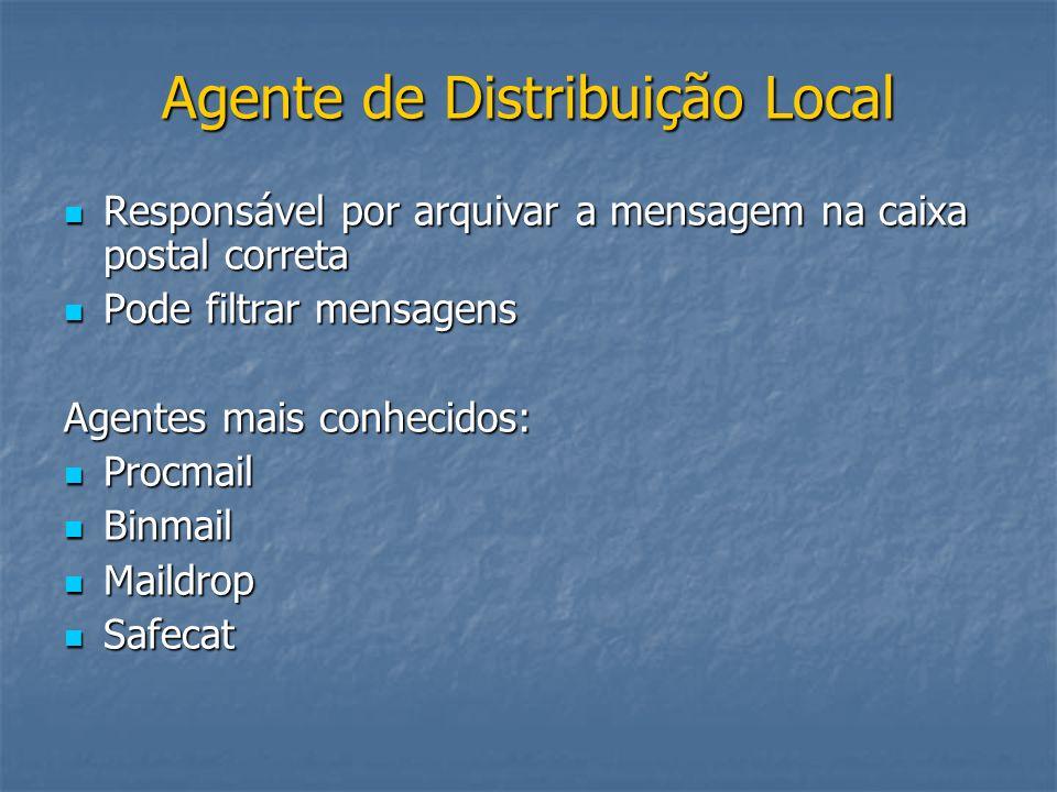 Agente de Distribuição Local