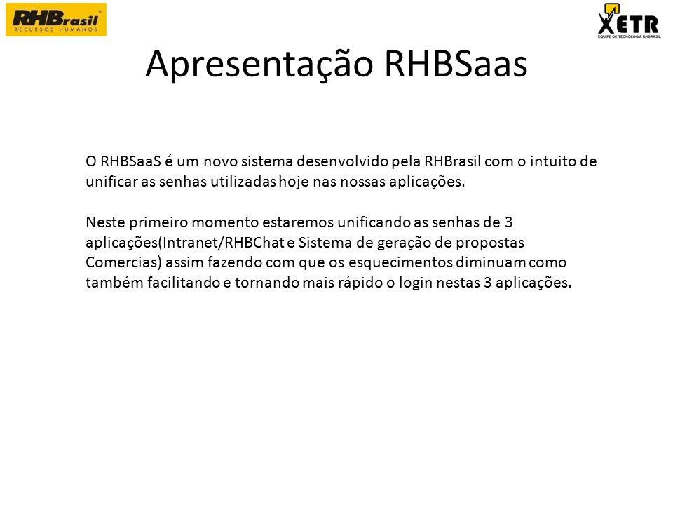 Apresentação RHBSaas