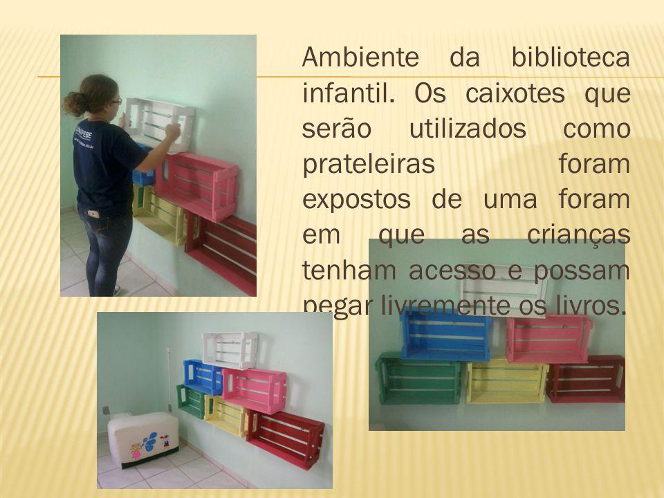 Ambiente da biblioteca infantil