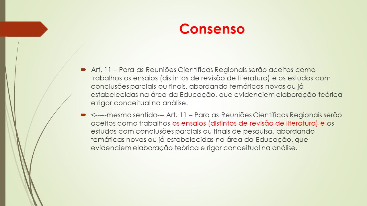 Consenso