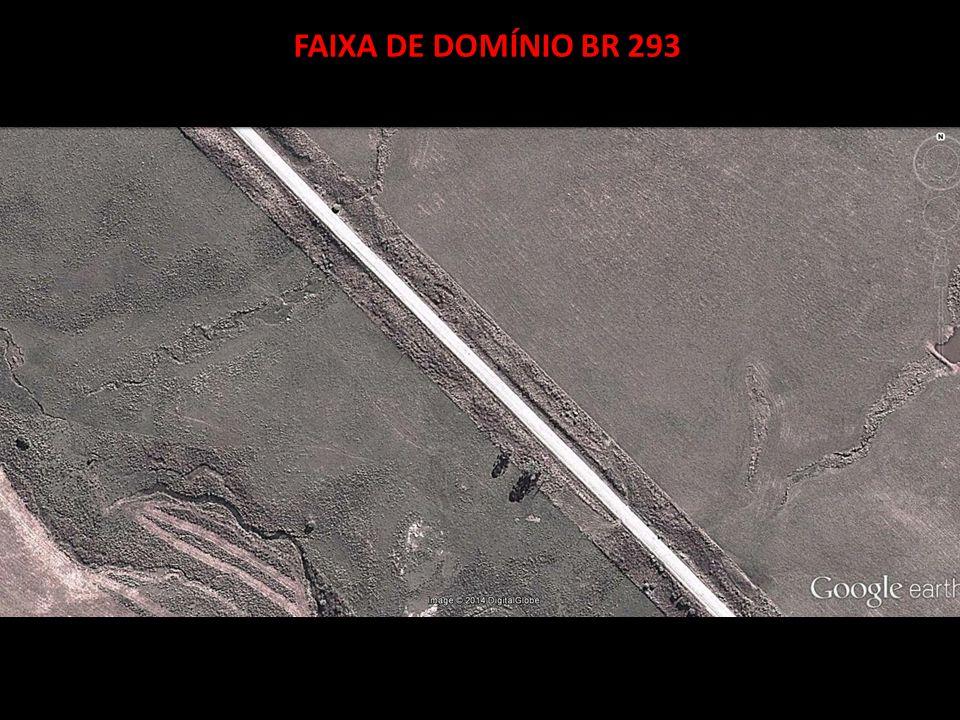 FAIXA DE DOMÍNIO BR 293