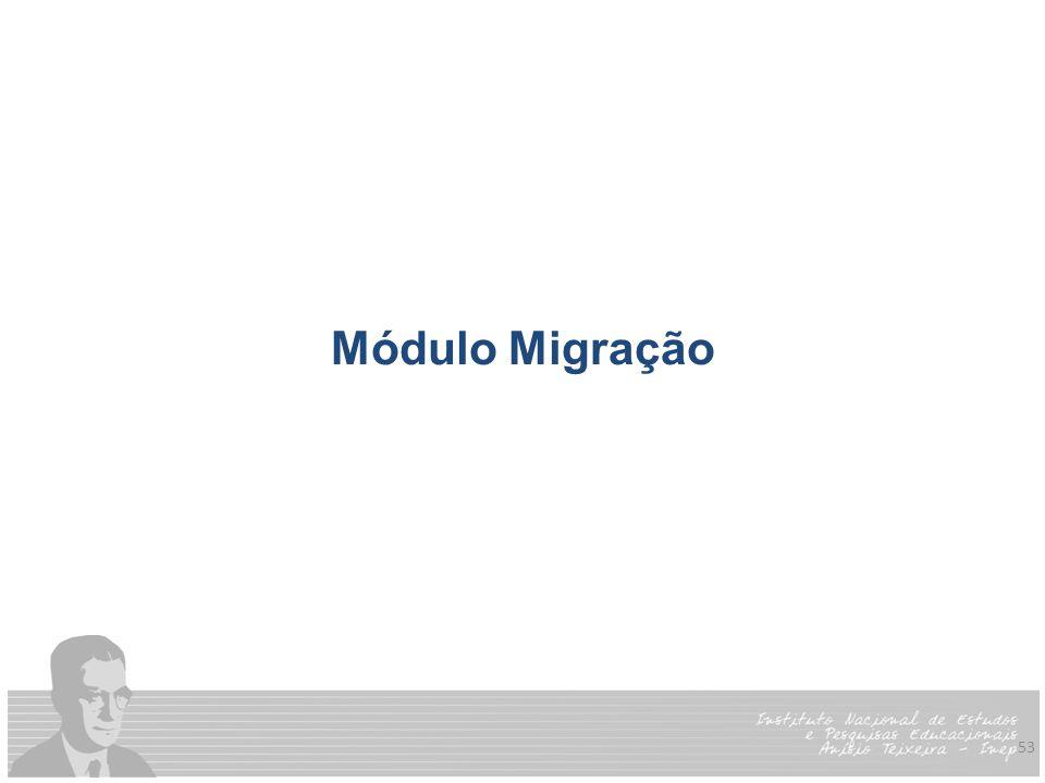 Módulo Migração