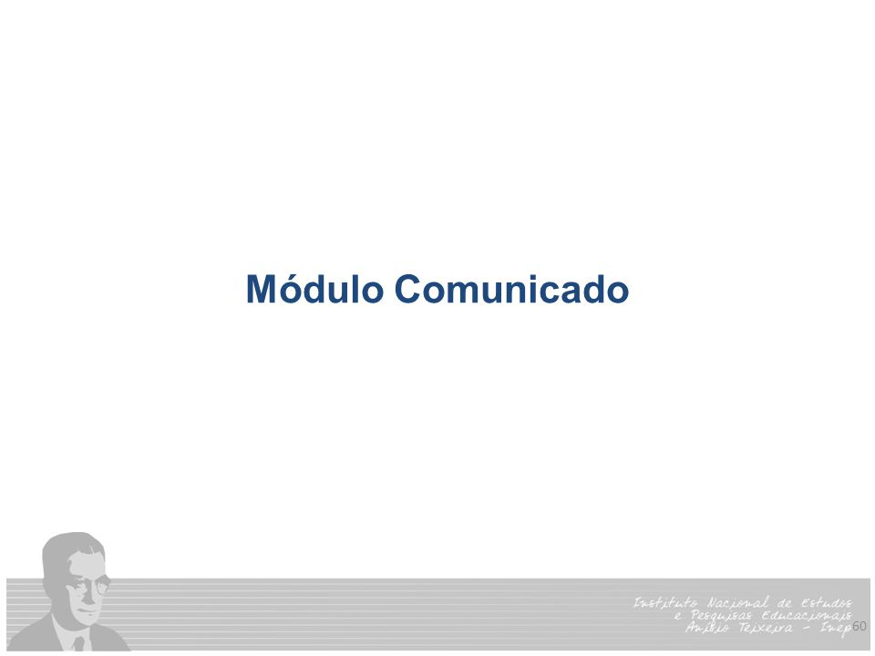 Módulo Comunicado
