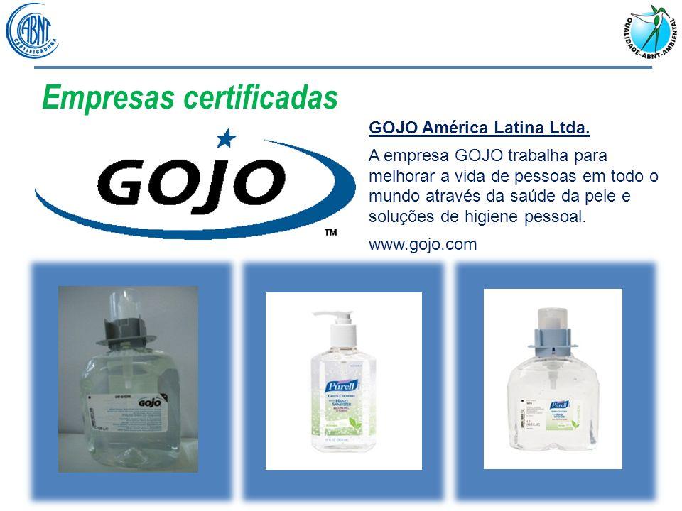 Empresas certificadas